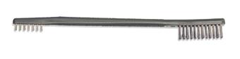 Doppelseitige Universalreinigungsbürste mit Edelstahlborsten