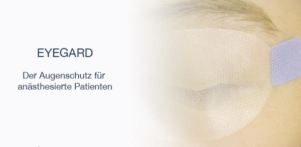 Augenschutz für anästhesierte Patienten
